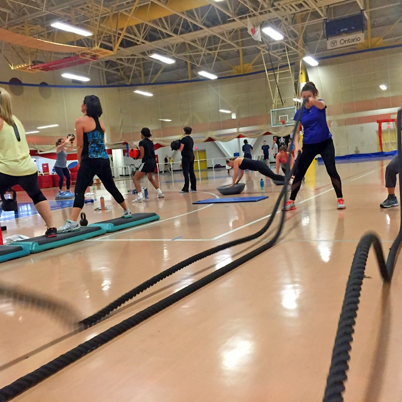 included fitness class