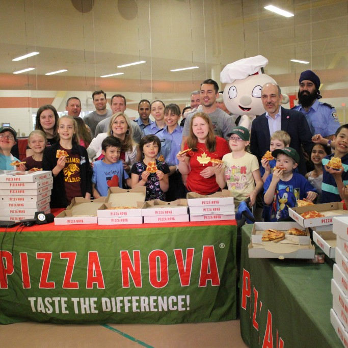 Pizza Nova Pizza for Kids Day