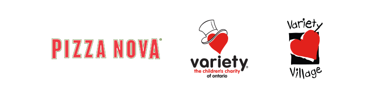 Pizza Nova-Variety - the Children's Charity - Variety Village